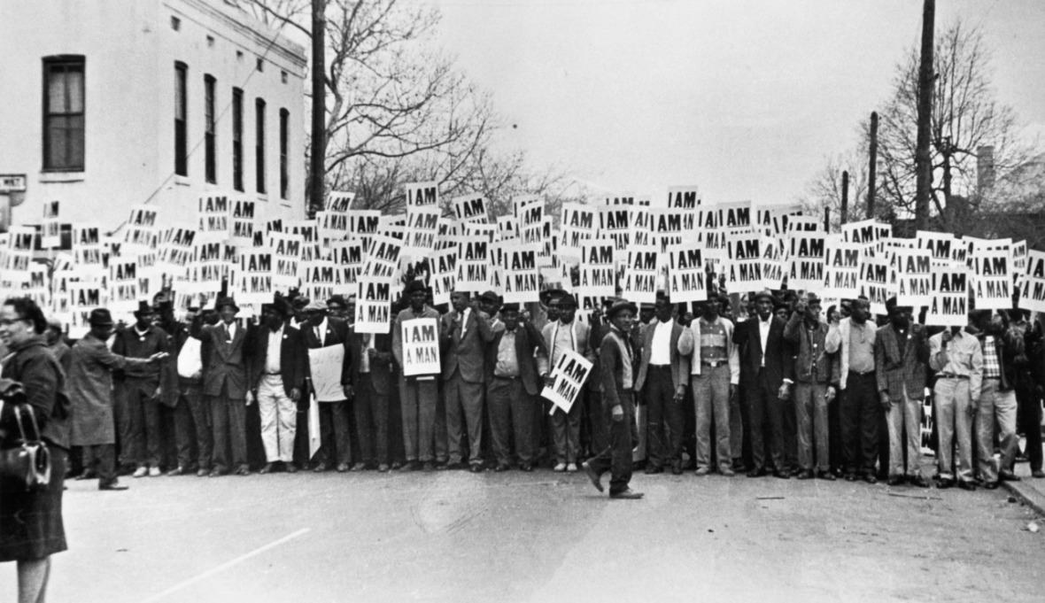 Ernest Withers, 'I Am A Man', Sanitation Workers Strike, Memphis, March 28, 1968
