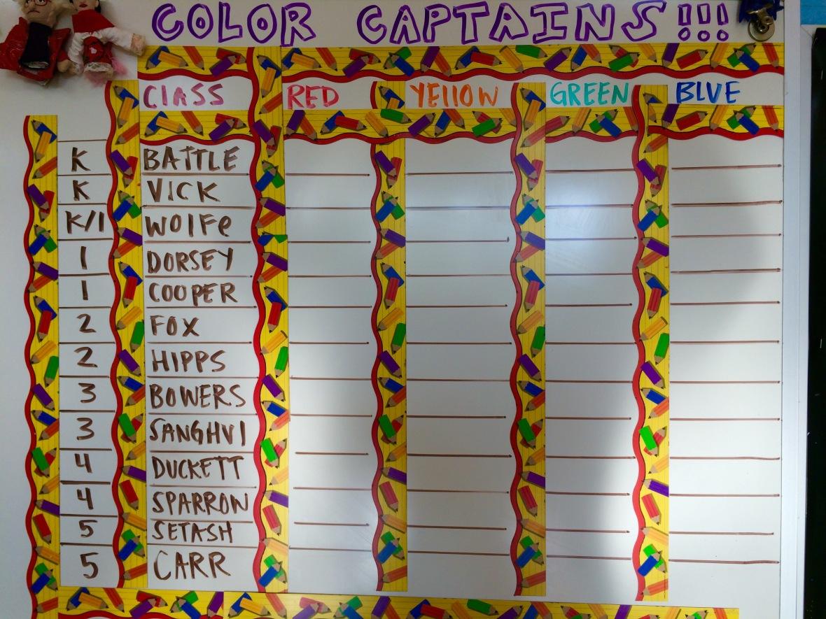 Color captains