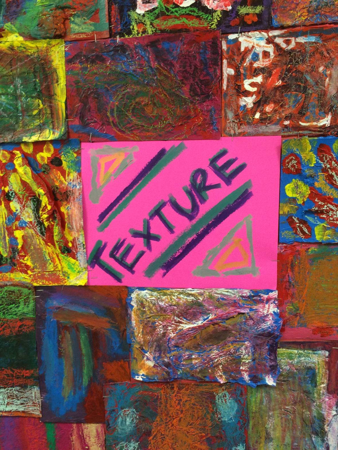 Texture Texture Read All About It Maury Elementary