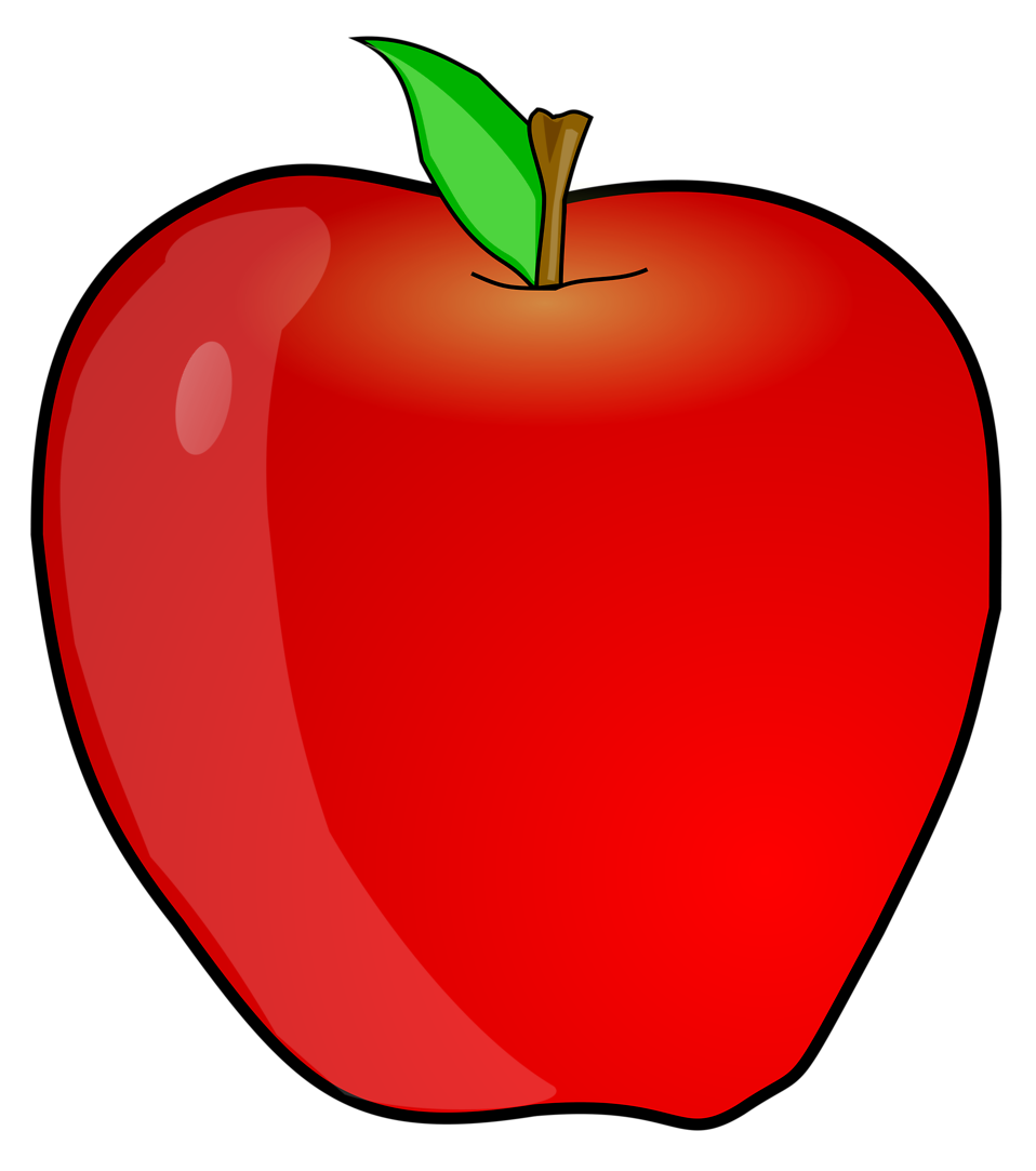 11461-illustration-of-a-red-apple-pv